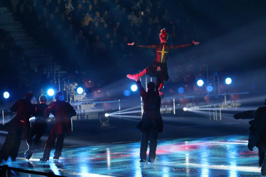 Леденото шоу в Арена Армеец София този път с участието на Йордан Йовчев